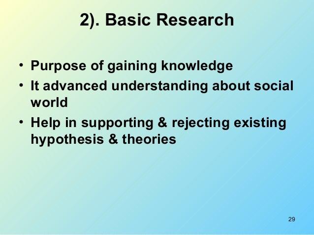 Quantitative impact study definition