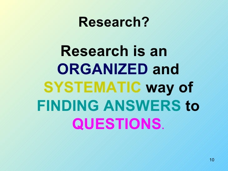 the definition of research Eliciting student thinking: definition, research support, and measurement of the ets® national observational teaching examination (note) assessment series.