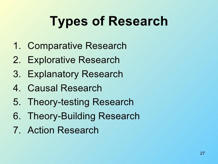 definition of explanatory research Explanatory, analytical and experimental studies in a quasi-experimental study, the research would use an accepted research tool (ie a loneliness survey.