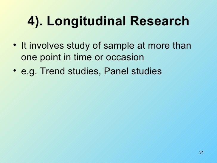 Longitudinal study legal definition of Longitudinal study