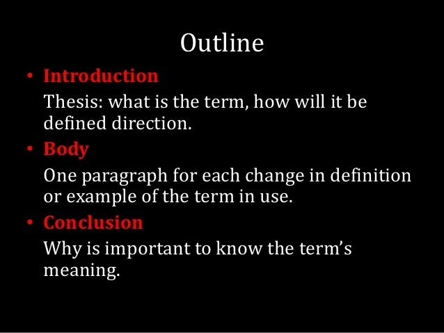 definition essay writing 7