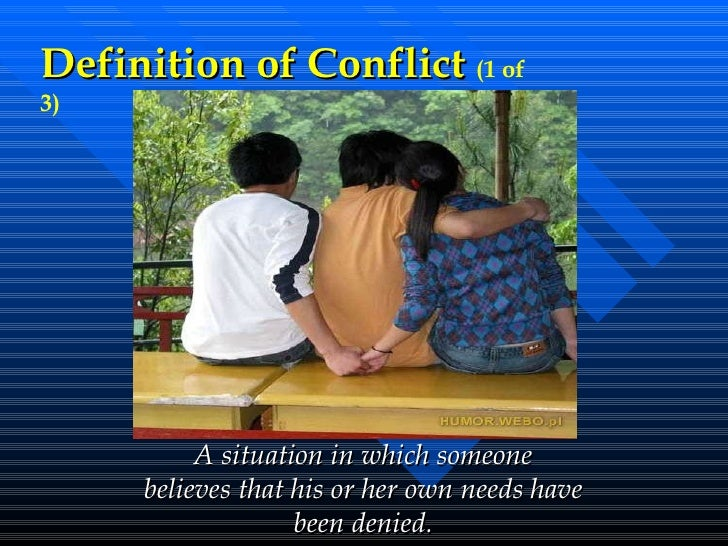stress and conflict What is conflict definitions and assumptions about conflict conflict is times of harmony to identify process improvements that can be implemented in times of stress return to about conflict menu : conflict styles and their.