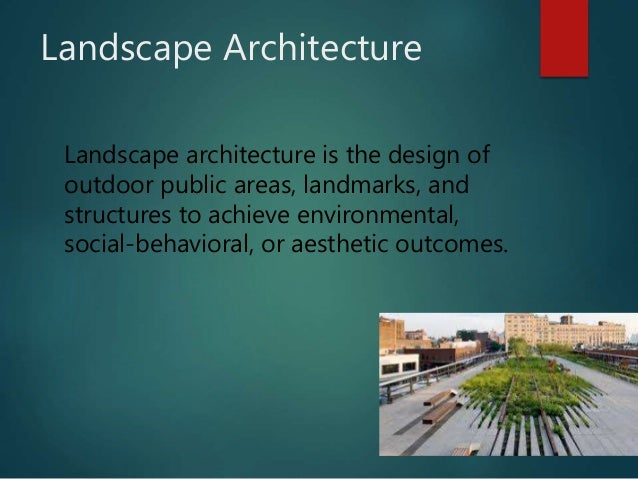 Definition of landscaping 1 Definition landscape and design