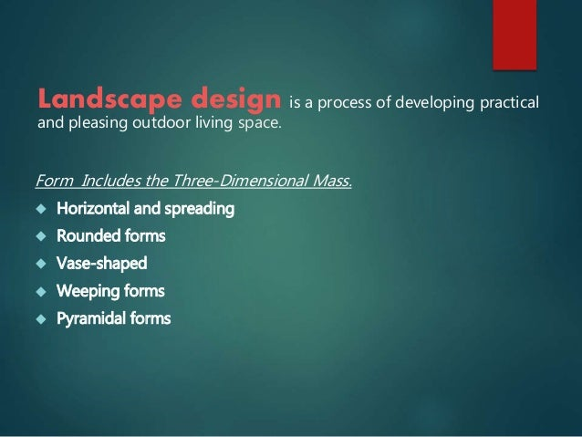 Definition of landscaping 1 for What is landscape drawing