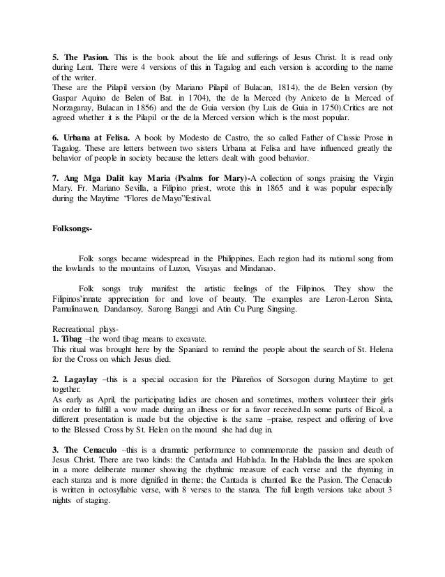 letter between urbana at felisa