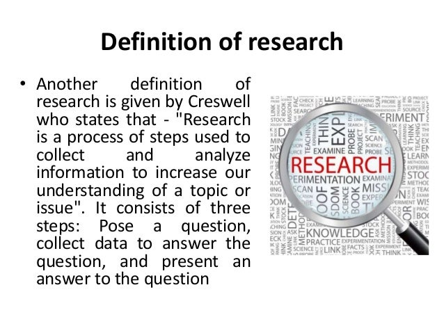definition for research methodology