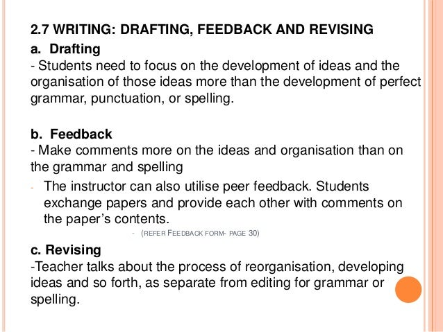 definition of writing process Define your writing topic and content area narrow your topic down to a specific angle that will be developed in your text make sure you are aware of any specific content or technical requirements you may have from teachers research and analyze information sources if needed • calculate the time needed to complete.