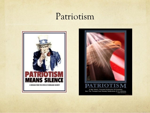 Essays about american patriotism