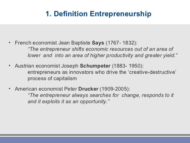 commercial entrepreneurship definition