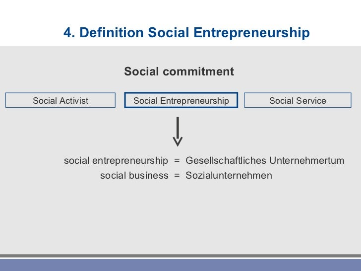 Definition Social Entrepreneurship