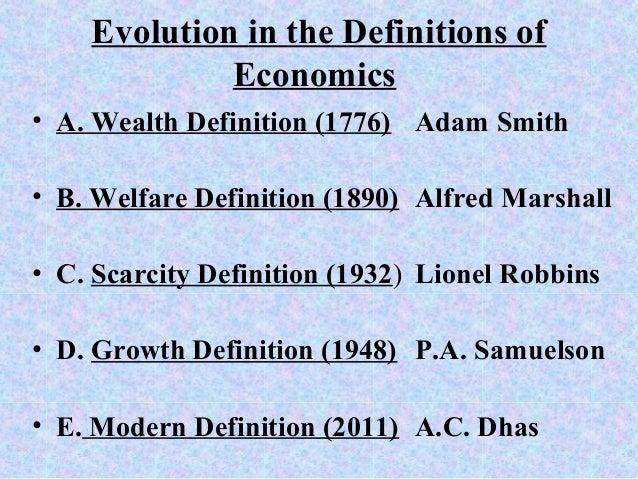 definition of economoics