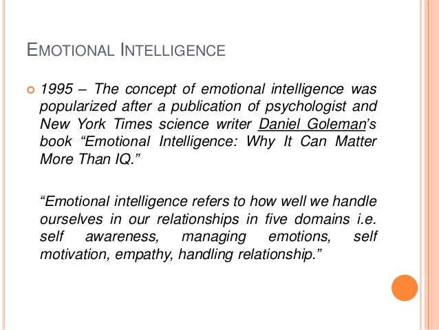 ??VERIFIED?? Daniel Goleman Emotional Intelligence 1995 Book. Politica Center ofrece Currier Compara today