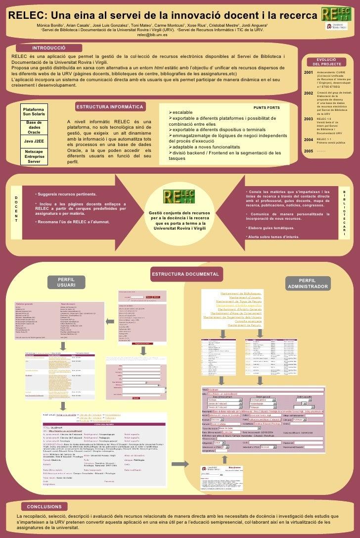 <ul><li>La recopilació, selecció, descripció i avaluació dels recursos relacionats de manera directa amb les necessitats d...