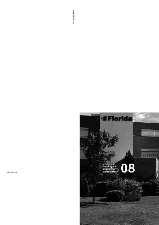 www.florida.es                                                        08                                   MEMÒRIA DE     ...