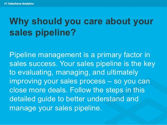Barclays Membership Number >> The Definitive Guide to Sales Pipeline Management