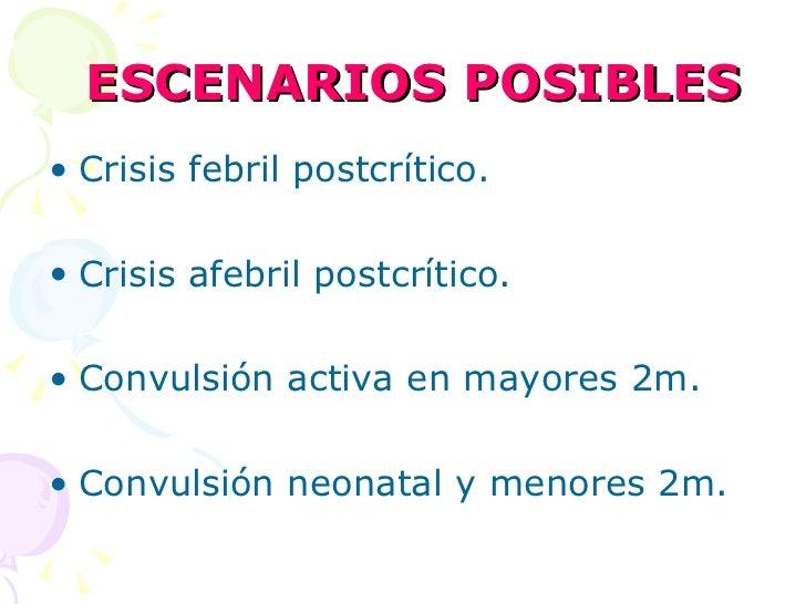 Convulsiones en pediatría Slide 2
