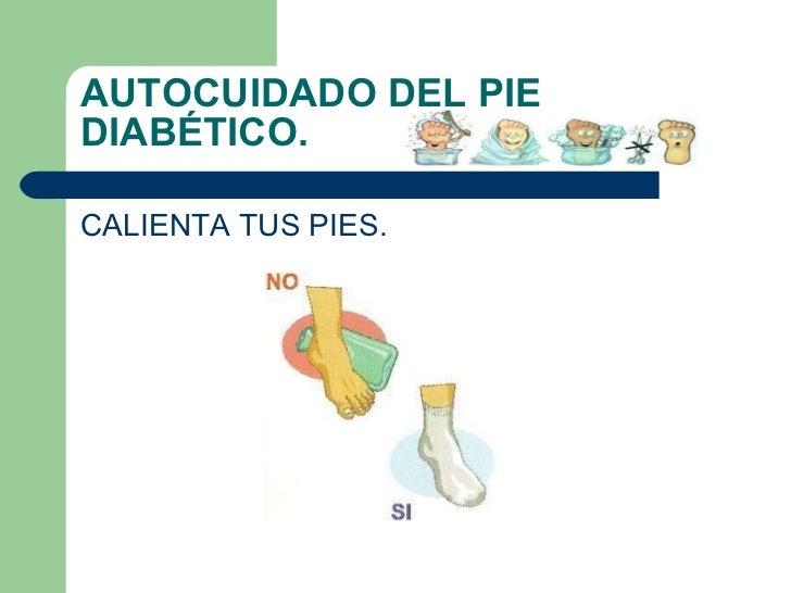 Cuidados del pie en diabeticos
