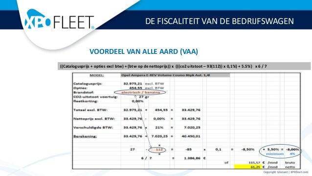 De Fiscaliteit Van De Bedrijfswagen In Belgie Mei 2014