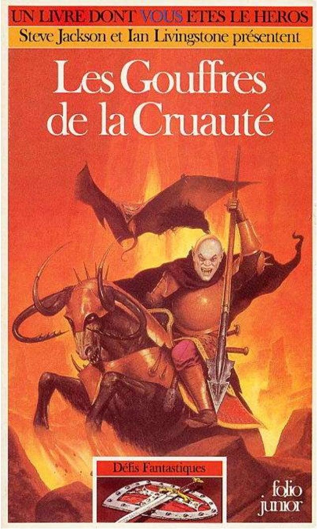 Luke Sharp Les Gouffres de la Cruauté Défis Fantastiques Traduit de l'anglais par Sylvie Bonnet Illustrations de Russ Nich...