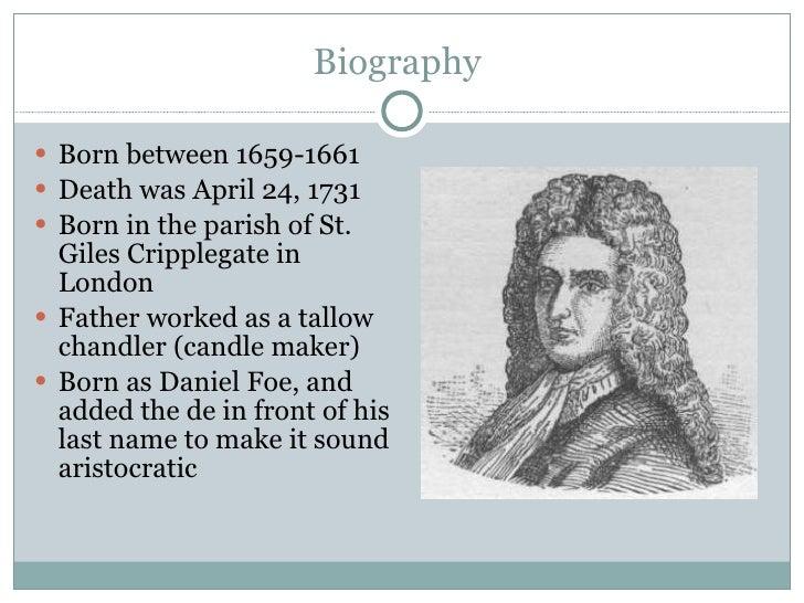 Biography  <ul><li>Born between 1659-1661 </li></ul><ul><li>Death was April 24, 1731 </li></ul><ul><li>Born in the parish ...