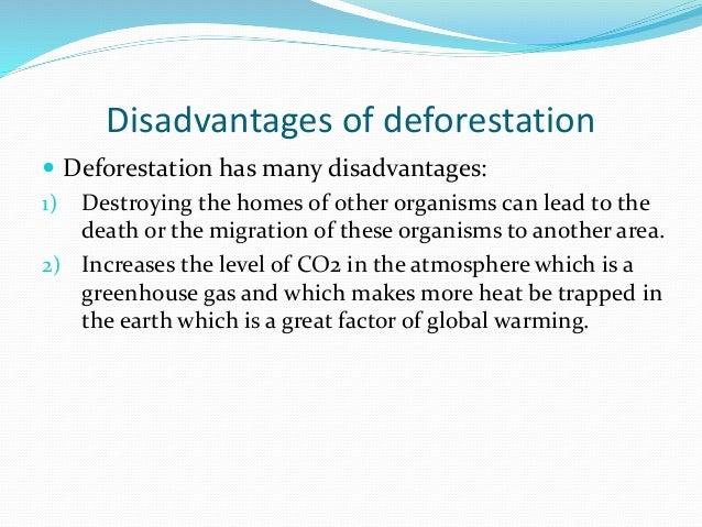 Advantages Of Natural Gas >> Deforestation