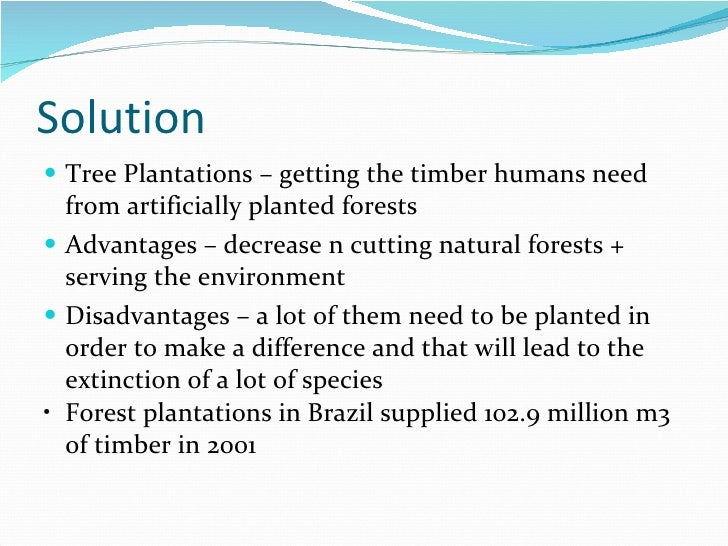 deforestation limitations Encouragingly, payments did reduce deforestation, and owners did not  forest,  credit constraints and impatience likely limited such behavior.