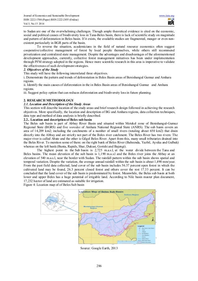 causes and consequences of deforestation in ethiopia pdf