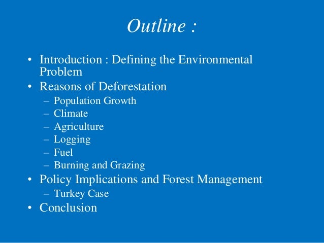 introduction deforestation Deforestation is the permanent destruction of indigenous forests and woodlands the term does not include the removal of industrial forests such as plantations of gums or pines deforestation has resulted in the reduction of indigenous forests to four-fifths of their pre-agricultural area.