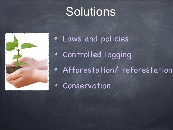 deforestation limitations When it comes to the issue of deforestation, more often than not, it is regarded as something negative however, there are also several reasons why this.