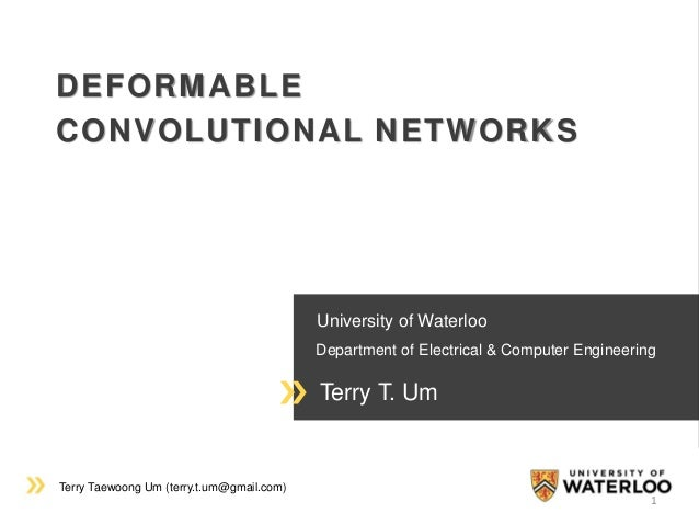Terry Taewoong Um (terry.t.um@gmail.com) University of Waterloo Department of Electrical & Computer Engineering Terry T. U...
