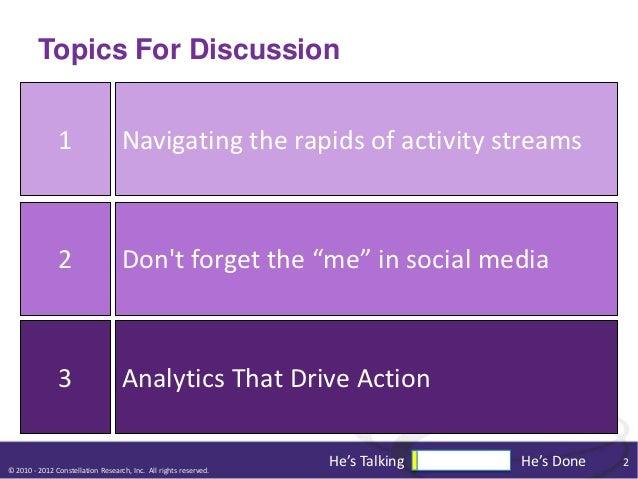 Things I'd Like Social Software Vendors To Focus On Slide 2