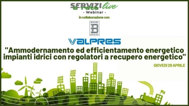 © Valpres S.r.l. 2021 – All rights reserved 2 Established in 1901 Claudio Gattavari Control Valves Specialist di Valpres w...