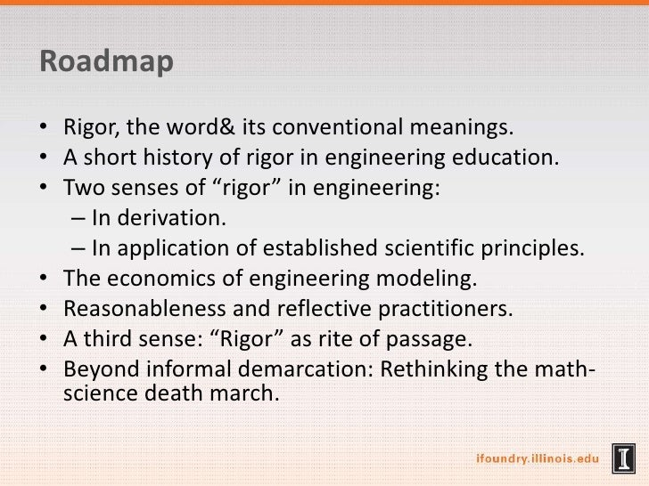 Engineering Rigor and Its Discontents: Philosophical Reflection as Curative to Math-Physics Envy Slide 3