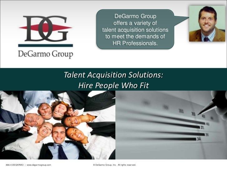 DeGarmo Group                                                            offers a variety of                              ...