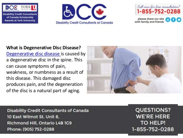 Degenerative Disc Disease Disability Tax Credit - Get Up To $40,000 T…
