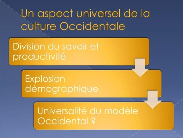 Un Aspect Universel De La Culture Occidentale Slide 2