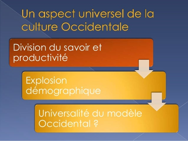 Un Aspect Universel De La Culture Occidentale Slide 3