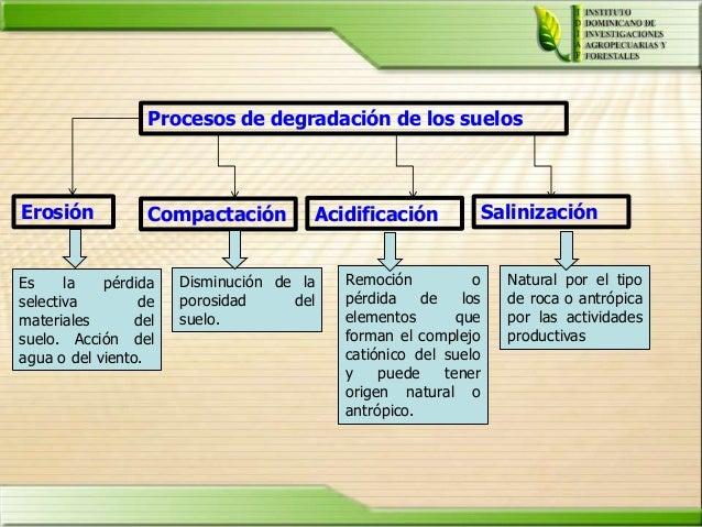 Degradacion de suelo 3 for Proceso de formacion del suelo