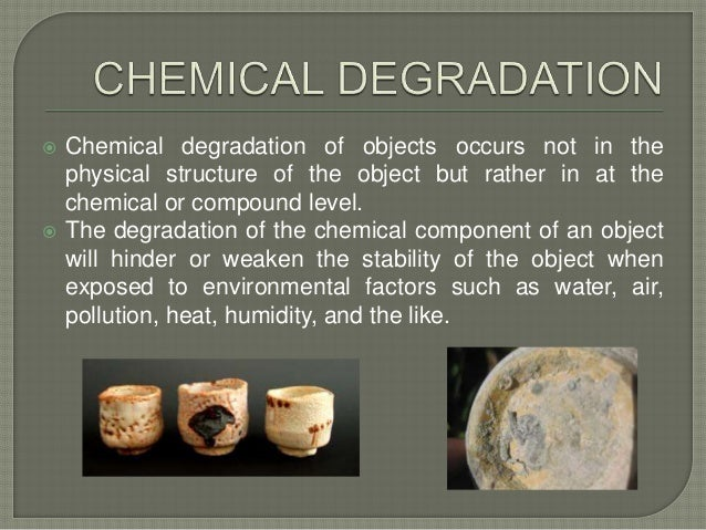 Degradation Of Ceramics
