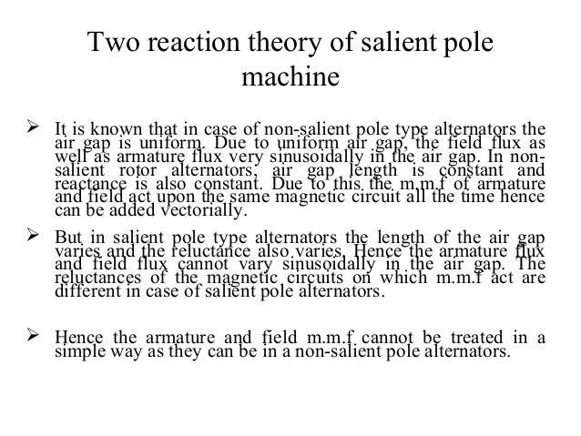 Two reaction model of salient pole machines phasor diagram of salien non salient pole alternators 3 ccuart Gallery