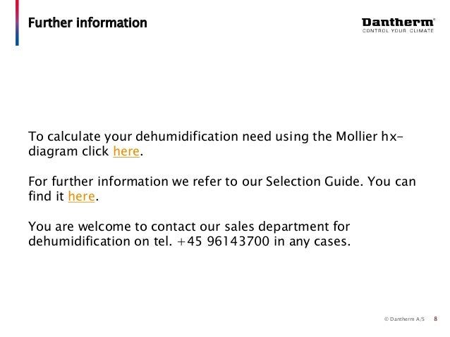 Dantherm selection guide 24 using the mollier hx diagram 7 8 ccuart Choice Image