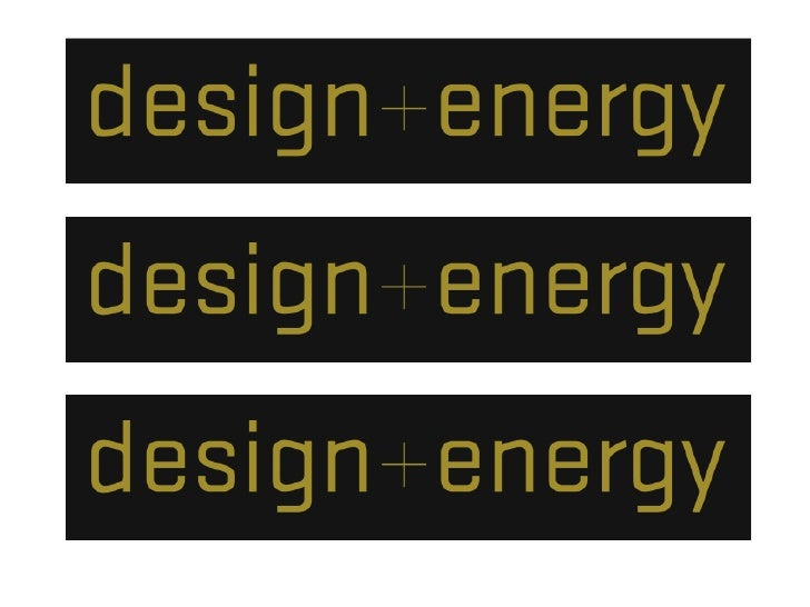Design + Energy Initiatives