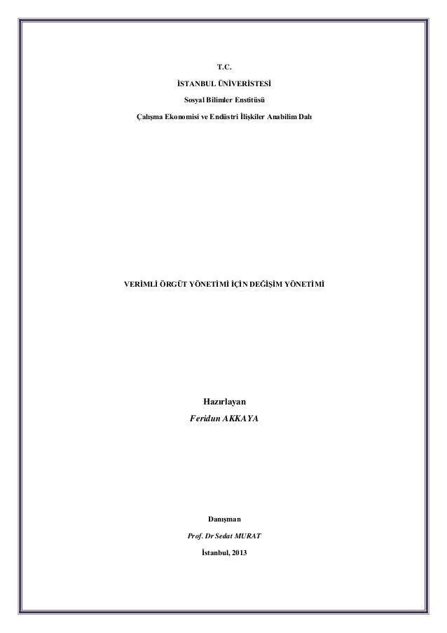 Yönetimin örgütsel idari usulleri