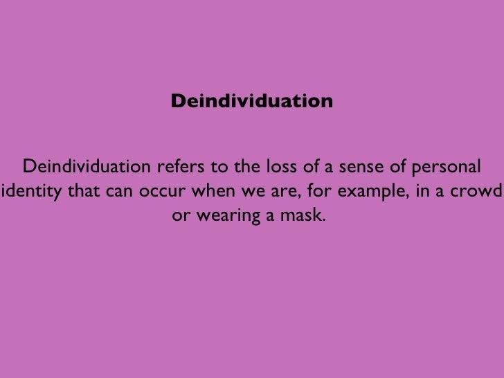 Deindividuation1