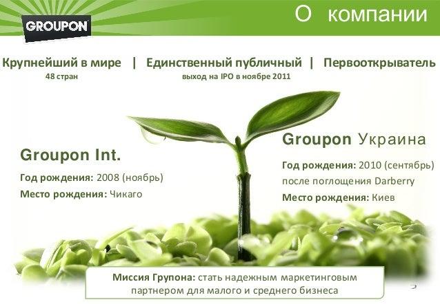 Михаил Дейнега, Groupon Slide 2