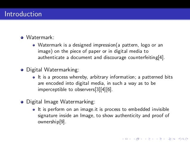 ieee papers on digital image watermarking Ieee transactions on image processing digital watermarking provides a possible solution to the in this paper, a novelmultiscale fragile watermarking method.