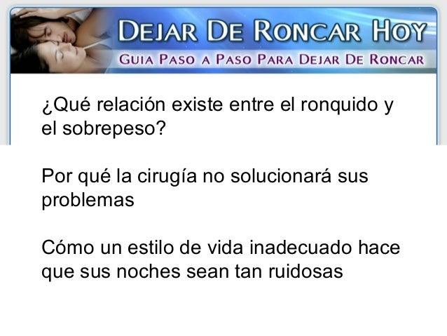 Dejar de Roncar Hoy libro pdf de Pablo Villaverde - video ...