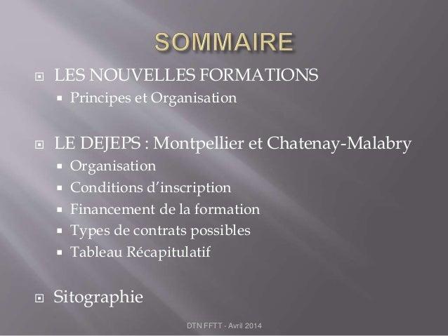 Dejeps presentation formation avril 2014 Slide 2