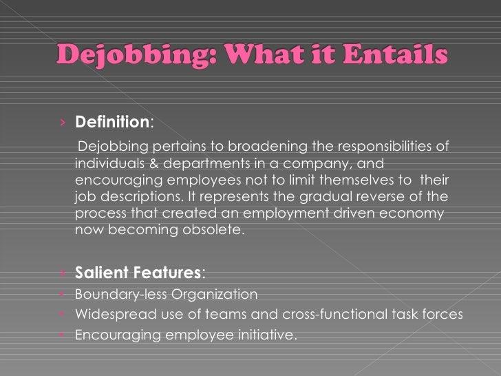 Unjobbing vs . Entrepreneuring