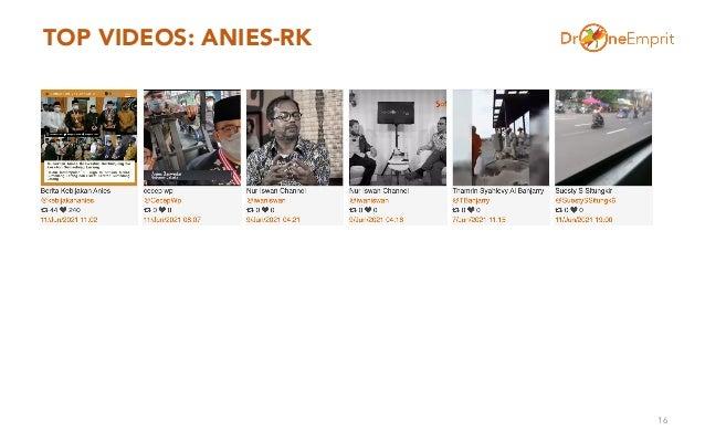 TOP VIDEOS: ANIES-RK 16